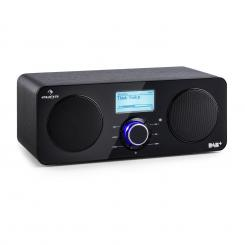 Worldwide Stereo, internet radio, Spotify Connect App Control bluetooth, crna boja Crna