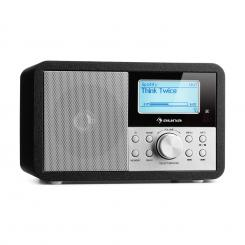 Worldwide Mini, internet radio, WLAN, mrežni player, USB, MP3, AUX, FM tuner, crna Crna