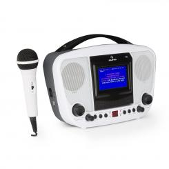 KARABANGA, sistem de karaoke, microfon, display color tft, 4,3'', bluetooth, alb