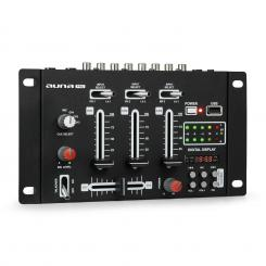 DJ-21, смесител, BLUETOOTH, USB, черен