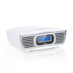 Dreamee DAB+, radio budilica, CD player, DAB+/FM, CD-R/RW/MP3, AUX, retro, bijela boja Bijela
