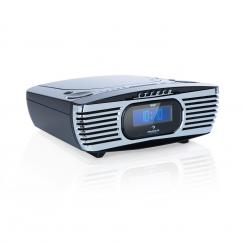 Dreamee DAB+, radio, CD Player, DAB+/FM, CD-R/RW/MP3, Aux, retro, negru Negru