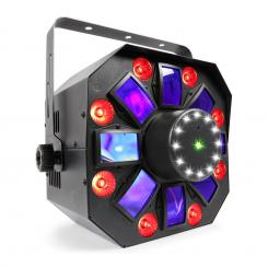 MULTIACIS IV LED DERBY, LASER, WASH IN STROBE DMX-/STAND-ALONE NAČIN DELOVANJA