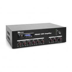 PBA60, 100 V pojačalo, 60W, USB/SD, MP3, bluetooth 60 W