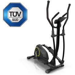 Epsylon Cross AS, crosstrainer, volant 12 kg, curea transmisie, negru Epsylon Cross (Cross Trainer)