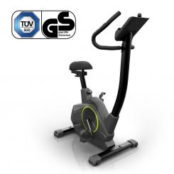 Epsylon Cycle, bicicletă de exerciții, volantă de 12 kg, curea, negru Epsylon Cycle (Home Trainer)
