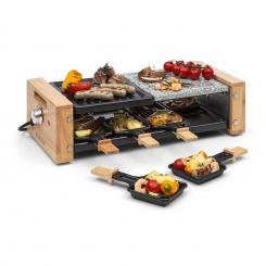 Chateaubriand Nuovo Raclette, плоча за грил, 1200 W, алумини/камък, 8 порции