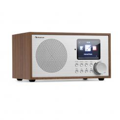 Silver Star Mini, internet radio, Wifi, BT, DAB+/FM, hrast hrast