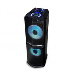 "Clubmaster 8000, party avdio sistem, do 8000 W P.M.P.O, 2 x 10"" woofer"