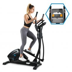 Helix Track, cross trainer, bluetooth app, 18 kg flywheel flywheel_18kg