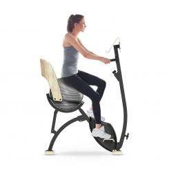 Roomik Cycle, exercise bike, 8 kg, volant, suport pentru tablet, minge de gimnastică Roomik Cycle (Yoga Bike)