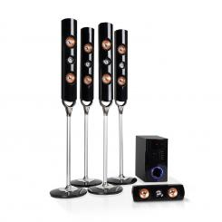 Areal Nobility, sistem surround 5.1 canale, 120 W RMS, BT 3.0, USB, SD, AUX