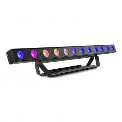 Professional LCB145, LED Bar, 12 x 8 W RGBW-LEDs Dimmer, schwarz