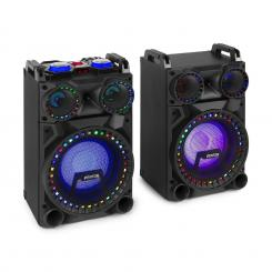 "VS10, Set de difuzoare active, 800 Watt, 10 "", Sub, BT, USB, Port SD, slot pentru SD 800 W"