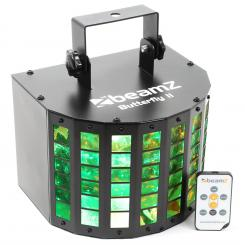 BUTTERFLY II LED MINI DERBY 6X3W, RGBAWP, IR