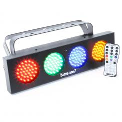 DJ Bank, 140 RGBA LED diod