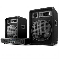 "Set complet DJ PA""Marrakesch Lounge"" Amplificator 2x Boxe"