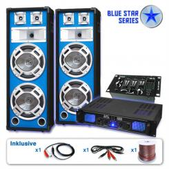 "Set PA Seria Blue Star ""Basskern USB"" 2800 W"