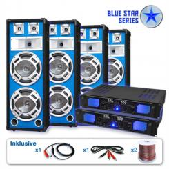 "Set PA Seria Blue Star ""Bassveteran Quadro"" 3200 W"