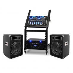 Rack Star Series Uranus Blues PA szett, Bluetooth, 250 személy
