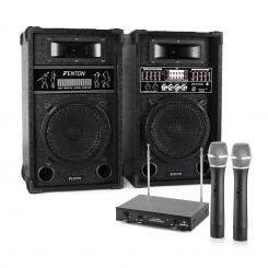 "Sistem Karaoke ""Star-8"" Boxe PAMicrofon wireless"