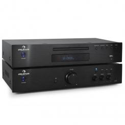 """Elegance Tower"" 2.0 HiFi Set CD + ojačevalec 600W"