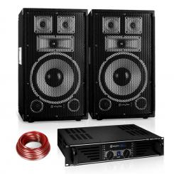 "PA комплект Saphir Series ""Warm Up Party"" 10PLUS, 600W"