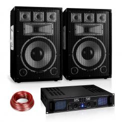 "PA комплект Saphir Series ""Warm Up Party"" 12PLUS, 700W"