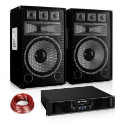 "PA комплект Saphir Series ""Warm Up Party"" 15PLUS, 1200W"