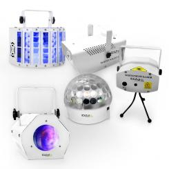 "LED & Effects Set "" White Light party II """