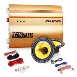 "2.0 auto hifi set""Golden Race V1"" - 5""repro a 2200W"