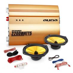 "Set Auto Hifi 2.0 ""Golden Race V3"" - 6x9"
