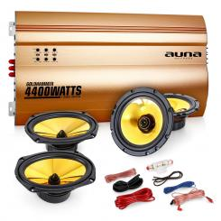 "Auna 4.0 auto hifi set ""Golden Race V5"""