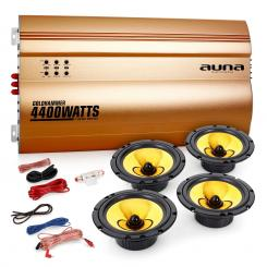 "Auna 4.0 auto hifi set ""Golden Race V6"""