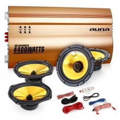 "Auna 4.0 auto hifi set ""Golden Race V7"""