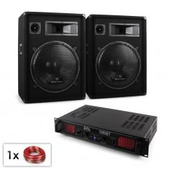 "PA SET ""Bluetooth SPL"" Boxe & Amp 1000W"