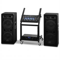 Rack Star Series Mars Flash, DJ PA készlet, bluetooth