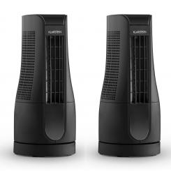 Skyscraper Office Tower, fan tabel fan 16W Touch negru
