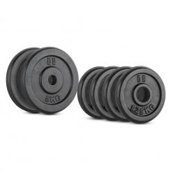 IPB 15, SET UTEGA, 4 x 1,25 kg + 2 x 5 kg, 30 MM