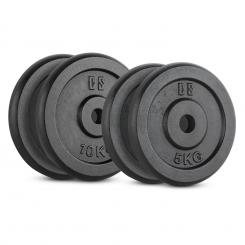 IPB 30, SET UTEGA, 2 x 5 kg + 2 x 10kg, 30mm