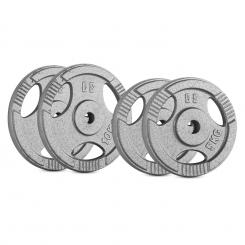 IP3H 30, SET UTEGA, 2 x 5 kg + 2 x 10 kg, 30 MM