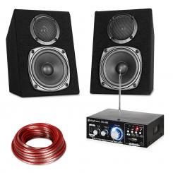 Hifi Stereo Sound Set USB SD MP3 - 30 W
