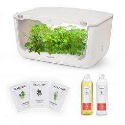 GrowIt Farm Starter Kit Asia, 28 növény, 48 W-os LED, 8 l, Asia seeds vetőmagok