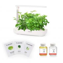 Growlt Flex Starter Kit Salad, 9 Rostlin, 18 W, LED, 2 l, Salad Seeds, živný roztok