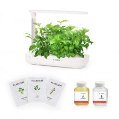 Growlt Flex Starter Kit Europa, 9 Rostlin, 18 W, LED, 2 l, EuropeSeeds, živný roztok