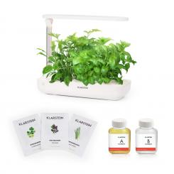 Growl Flex Starter Kit Asia, 9 Rostlin, 18 W, LED, 2 l, Asia Seeds, živný roztok