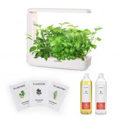 GrowIt Cuisine Starter Kit Asia, 2 л, 25 W LED, Asia seeds, растителен разтвор