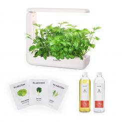 GrowIt Cuisine Starter Kit Salad, 10 priesad, 25 W LED, 2 l, Salad Seeds, živný roztok