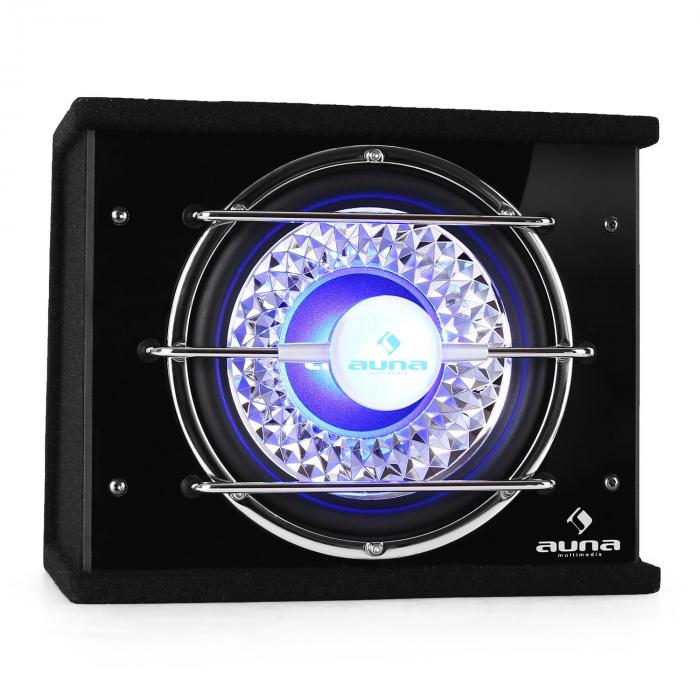 C8-CB250-34, subwoofer do auta, 600 W