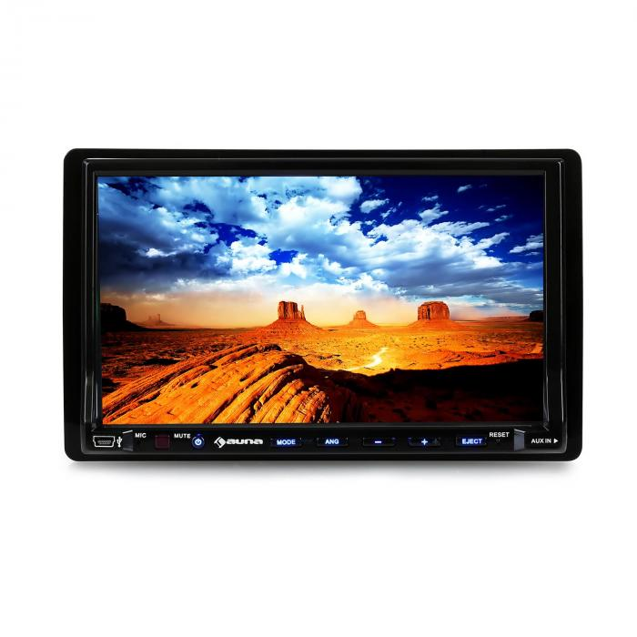 "AUTO DVD PLAYER 7"" TFT TOUCHSCREEN LCD ZASLON"